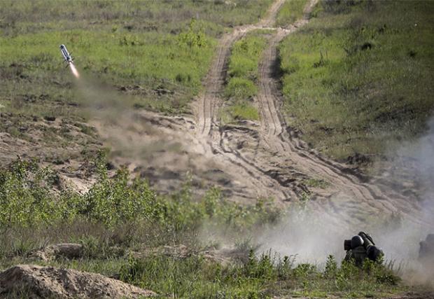 Випробування FGM-148 Javelin в Україні