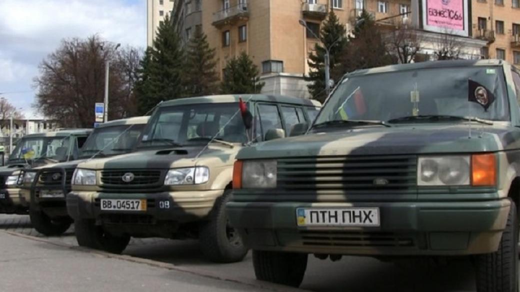 В ВСУ поставили на учёт более 1600 транспортных средств, предоставленных волонтёрами