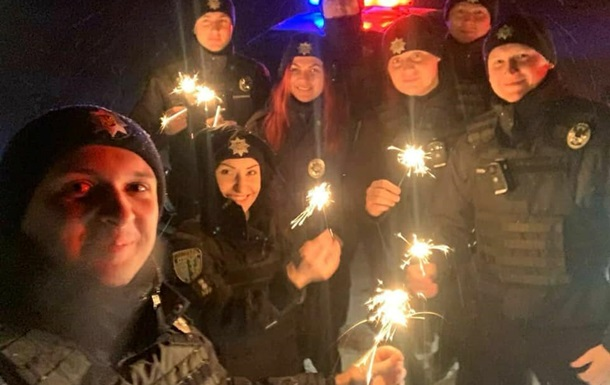 Полиция отчиталась о нарушениях в новогоднюю ночь