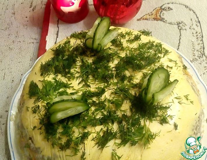 Рецепт: Салат Новый
