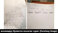 Улан Раимбековдун тосмо арызы.