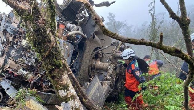 У Тайвані впав гелікоптер, серед загиблих — начальник генштабу