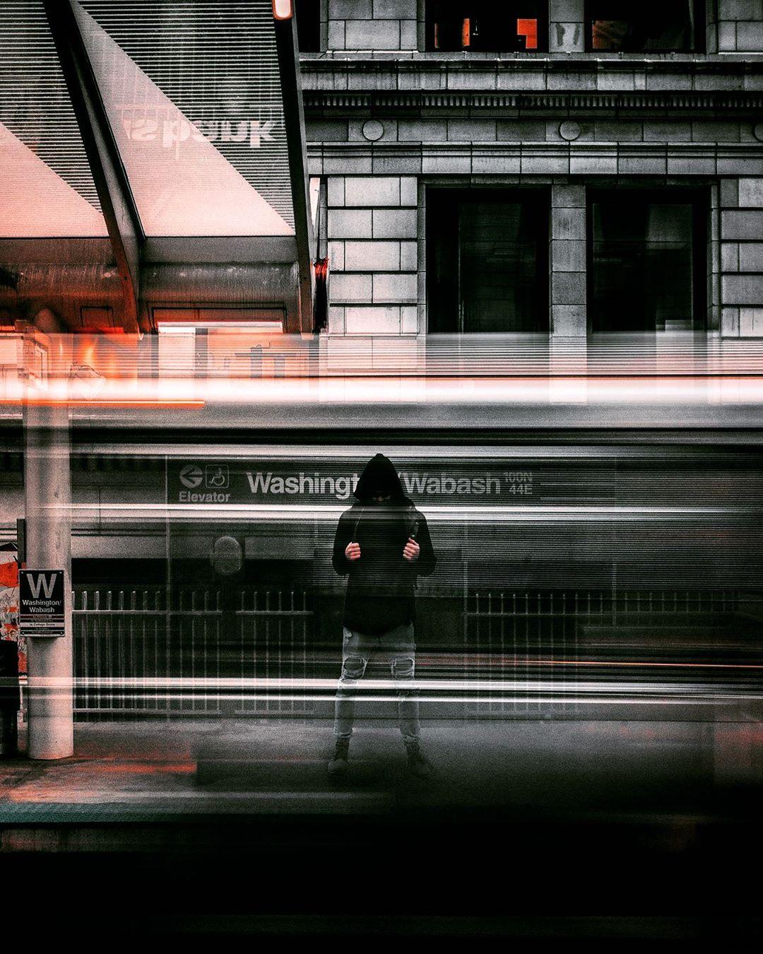 Улицы Чикаго на снимках Бенджамина Сутера