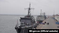 Тральщик НАТО в Одессе, 29 октября 2019 года