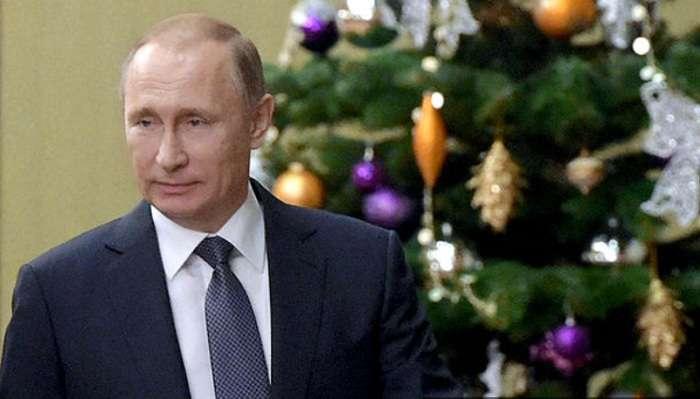 Путин решил не поздравлять Зеленского и Зурабишвили с Новым годом