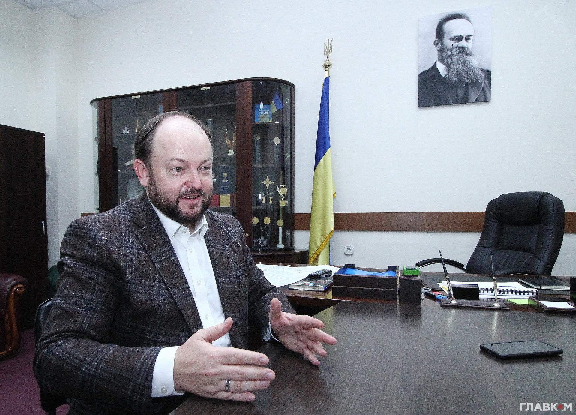 Керівник «Укрспирту» Сергій Блескун