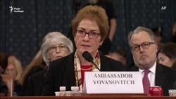 Колишня посол США в Україні каже, що її «поставили на коліна» наклепами – відео