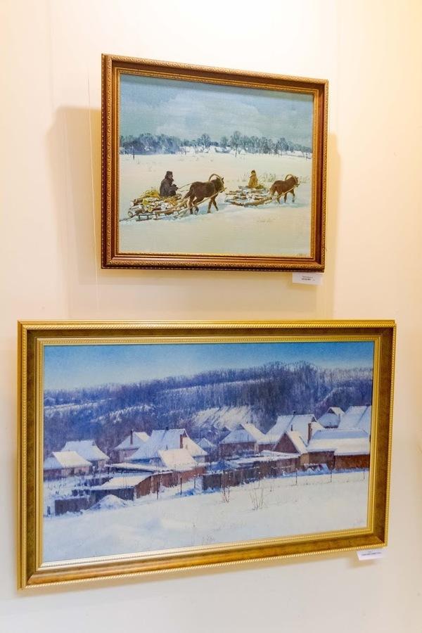 Як вінницькі художники закликали сніжну зиму