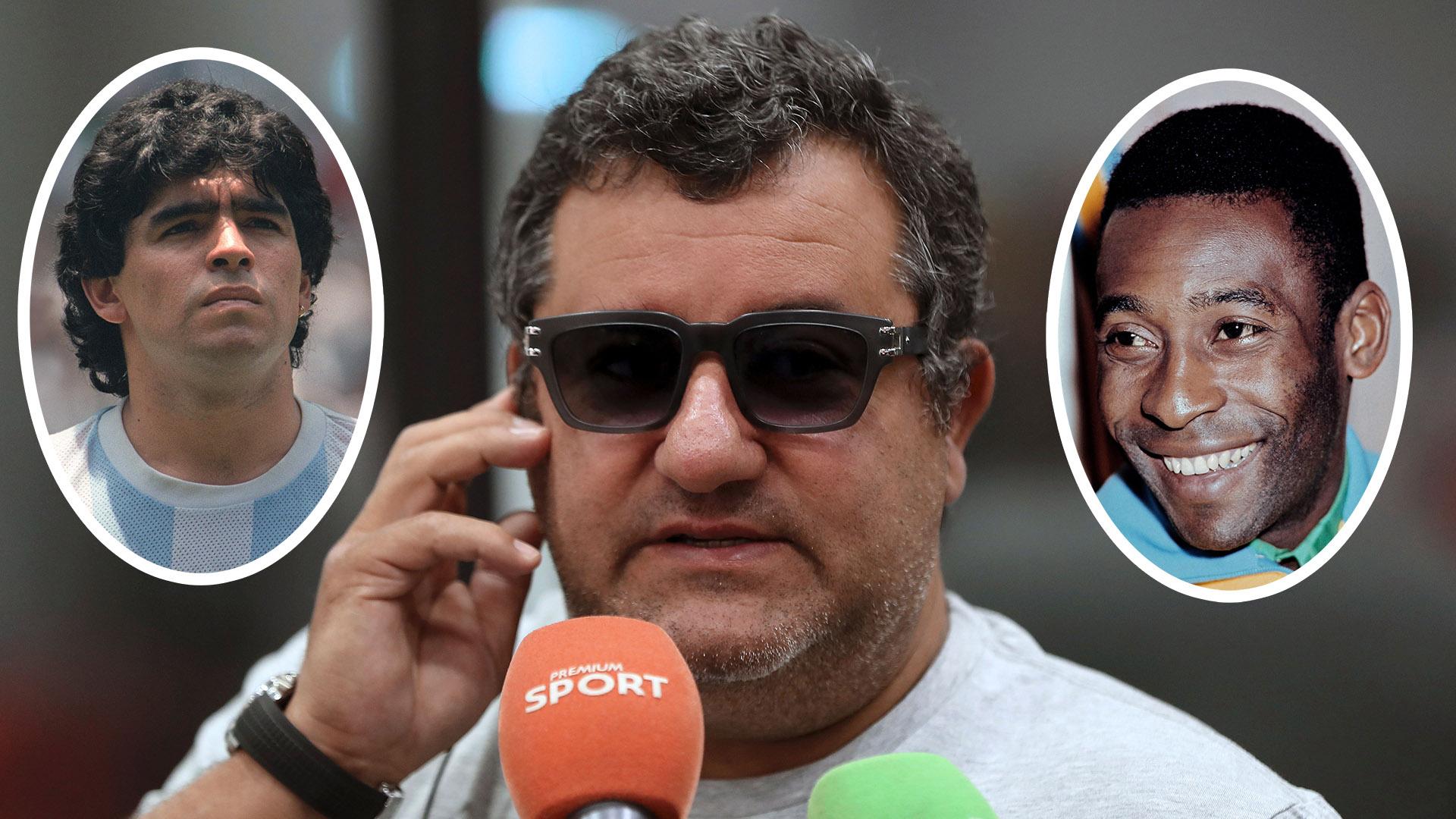 'Man Utd would ruin even Maradona & Pele!' — Raiola slams Red Devils & says he won't send players there
