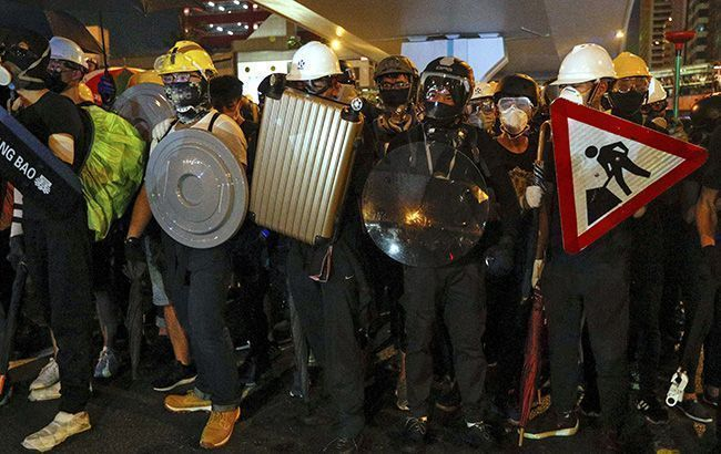 В Гонконге задержали около 400 человек в ходе новогодних протестов