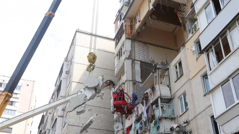 Взрыв на Позняках: Спасатели завершили поисковые работы – ФОТО — фото 1